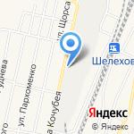 Коммерческий центр на карте Шелехова