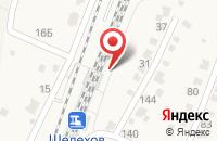 Схема проезда до компании Темп в Шелехове