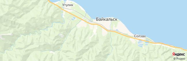 Байкальск (курорт Соболиная гора) на карте