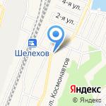 Лесовичок на карте Шелехова
