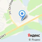 Шелеховский водоканал на карте Шелехова