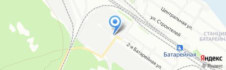 Виста-К на карте Иркутска