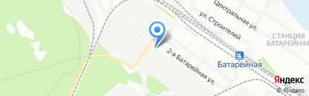 ТрансКонтейнер ПАО на карте Иркутска