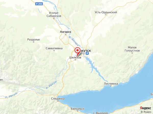 поселок Смоленщина на карте