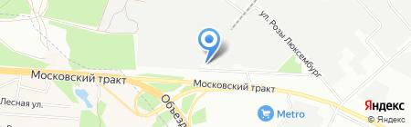 Полиант на карте Иркутска