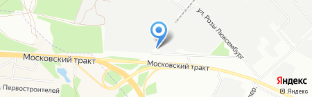 Элит-Авто на карте Иркутска