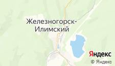 Отели города Железногорск-Илимский на карте