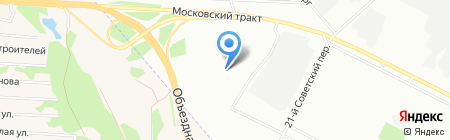 Просто Праздник на карте Иркутска