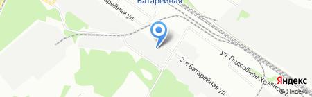 Торговый Дом Алика на карте Иркутска