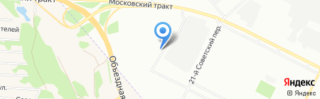 Норд-Вест на карте Иркутска