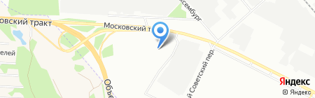 METRO Cash & Carry на карте Иркутска