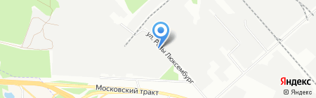 Металл-Сервис на карте Иркутска