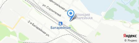 Семерка на карте Иркутска