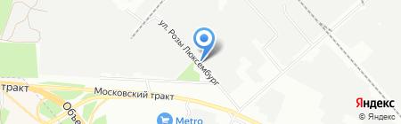 КП Крокус на карте Иркутска