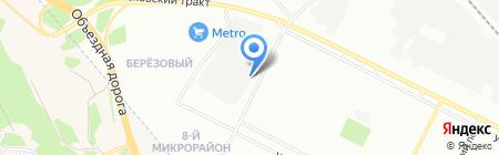 Баград на карте Иркутска