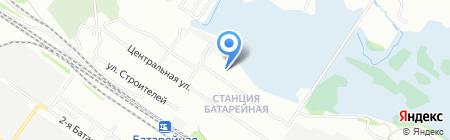 Детский сад №36 на карте Иркутска