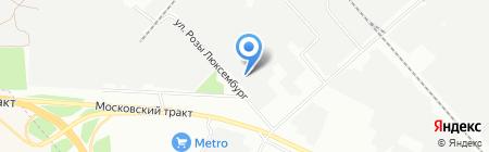 Комвен-Иркутск на карте Иркутска
