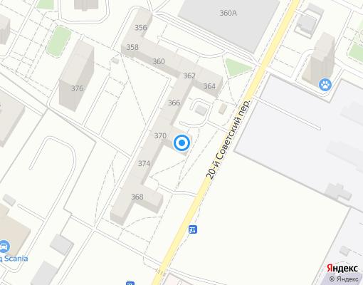 Товарищество собственников жилья «ТСЖ Ирконд» на карте Иркутска