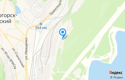 Местоположение на карте пункта техосмотра по адресу Иркутская обл, г Железногорск-Илимский