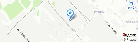 ГИрф на карте Иркутска