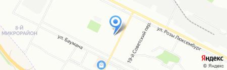 Детский сад №75 на карте Иркутска