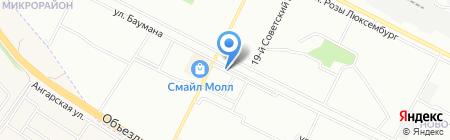 Gregory Mall на карте Иркутска