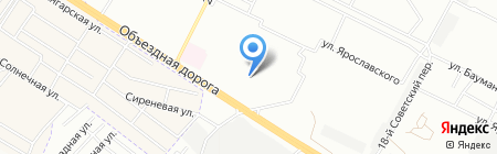 Протей на карте Иркутска