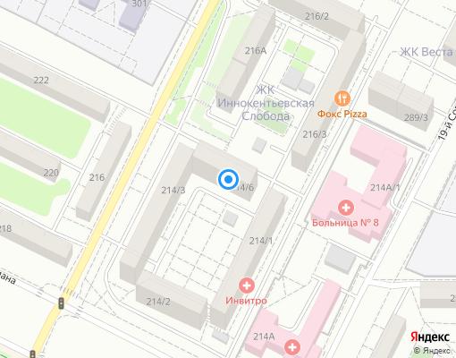 Управляющая компания «Доверие» на карте Иркутска