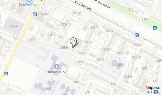 Салон-парикмахерская. Схема проезда в Иркутске