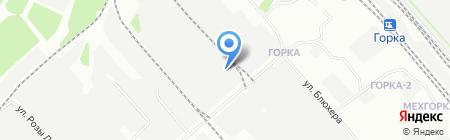 Командор Красноярск на карте Иркутска