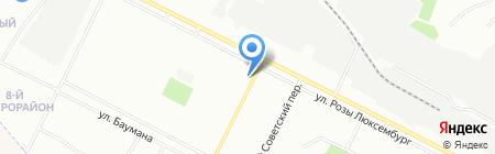 Эксперт-Недвижимость на карте Иркутска