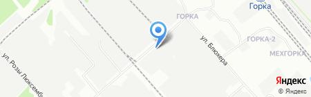 Элком на карте Иркутска