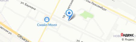 Почтовое отделение №48 на карте Иркутска