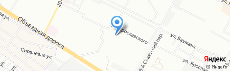 Олимп на карте Иркутска