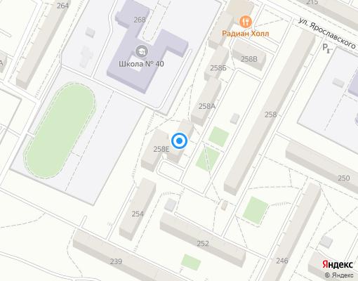 Товарищество собственников жилья «ТСЖ Эверест» на карте Иркутска