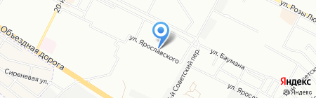 Ключи на карте Иркутска