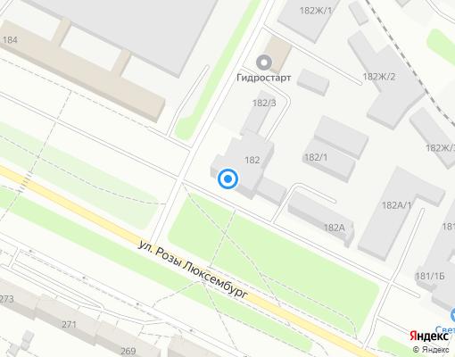 Управляющая компания «УК СВОЙ ДОМ» на карте Иркутска