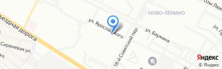 Детский сад №51 Рябинка на карте Иркутска