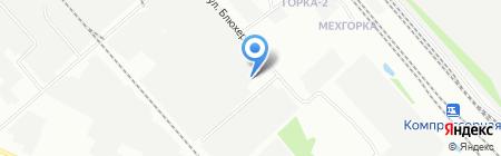 Опус-Иркутск на карте Иркутска