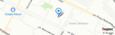 Общественная приемная депутата Иркутской городской Думы Черкасовой Е.Ф. на карте Иркутска