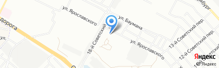 Иркутский аграрный техникум на карте Иркутска