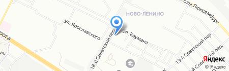 Анталия на карте Иркутска