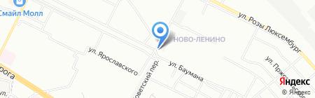 БегемотСтрой на карте Иркутска