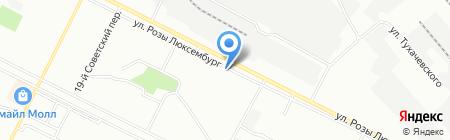 Эталон Сервис на карте Иркутска