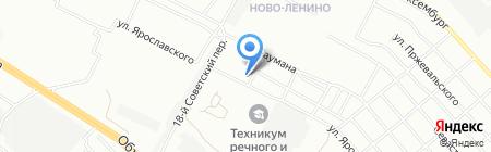 Медицинский колледж железнодорожного транспорта на карте Иркутска