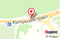 Схема проезда до компании Монамур в Иркутске