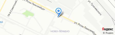 Крепежные изделия на карте Иркутска