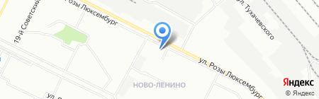 ТсПК на карте Иркутска