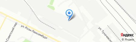 Техно-Лайн на карте Иркутска