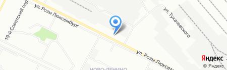 Автокомплекс на Подстанции на карте Иркутска